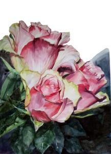 Watercolor Flower Artist Greta Corens Summer 2013 Publications, Awards And Prizes